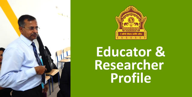 Educator and Researcher Profile